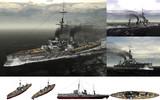 MMD用モブ弩級戦艦1906セット
