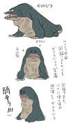 瞼のガマクジラ