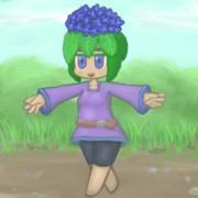 紫陽花あたま