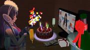 ウェザーロイドairiさんとラスボスの誕生日をお祝いしてみたかった