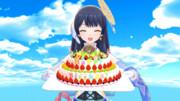 GIFアニメ【ウェザーロイド Airi】ようこそ誕生日 #あいりん生誕祭 #WNI