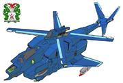 VFH-12 スーパーオーロラン(ジャイロダイン)宇宙機甲隊・海兵分団 塗装