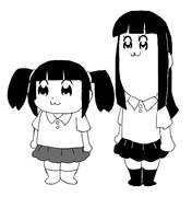 ポプテピピック風モノ姉妹