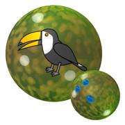 オオハシのボウリングボール