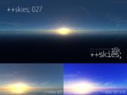 ++skies; 027 [16k8k/8k4kスカイドーム素材配布]