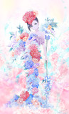 flower (花)