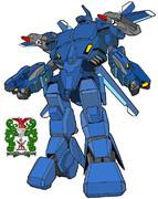 (バトロイド)「VFH-12 スーパーオーロラン」宇宙機甲隊・海兵分団 仕様