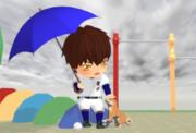 【ダイヤのMMD】雨降り【ダイヤのA】