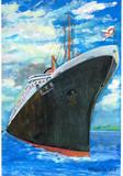 豪華客船「橿原丸」