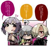 幸子は小梅ちゃんと輝子ちゃんに(性的な意味で)狙われている(確信)。