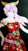 【切り貼り絵】綿月依姫