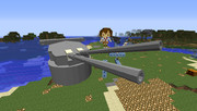 【Minecraft】四一式三十六サンチ連装砲【JointBlock】