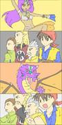 竜神4コマ