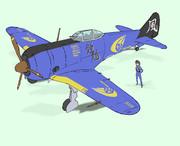 中島飛行機(現富士重工)製 鍾馗