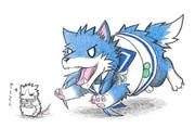 ネズミ提督と涼風犬