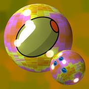 オリーブのボウリングボール