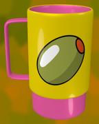 オリーブのマグカップ