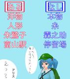 【第2回4コマ漫画の4コマ目選手権EX】あるなしクイズ