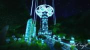Minecraft 幻想建築「始まりの時計塔」