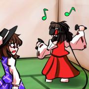 菫子ちゃんの持ってきたバイブで遊ぶ霊夢ちゃん