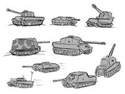 ドイツ戦車 適当