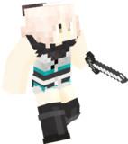【Minecraft】沖田総司 (霊基再臨)全体図【fate/koha-ace 帝都聖杯奇譚】