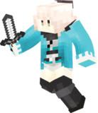 【Minecraft】沖田総司 (最終再臨)全体図【fate/koha-ace 帝都聖杯奇譚】