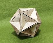 折り紙で大十二面体