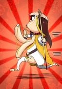 仏教系超乳黒髪女子三蔵ちゃんを描きました