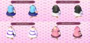 【どうぶつの森】ゆかりさん関連の服3【マイデザイン】