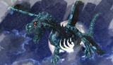あ!やせいのスケリトルドラゴンがとびだしてきた!