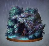 Log_0007 ー雨宿りー