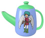天使勇者のティーポット