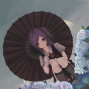 梅雨:萩風