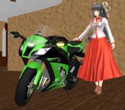 Kawasakiの飛鷹