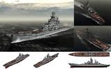 MMD用モブ巡洋戦艦1980セット