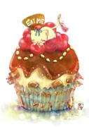 アリスのカップケーキ