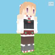 Minecraftスキン 艦これ Zara