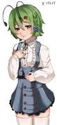 それとなしに可愛いような服を着たリグル描きました