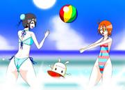 夏だ!海だ!水着で女を上げろ!
