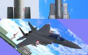 【MMDモデル配布】日の丸のズレたF-15J