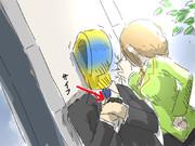 コレが…壁ドン…(ドキドキ