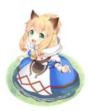 ベルナ村のネコ嬢ちゃん