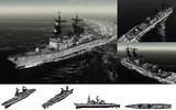 MMD用モブミサイル駆逐艦1975セット