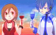 赤青ワイン