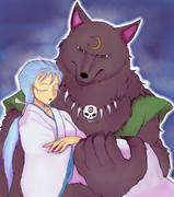山犬と眠る女