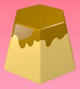 六角形のプリン