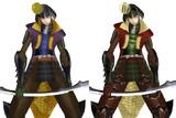 【MMD戦国BASARA】第壱衣装と狂竜染めっぽいの