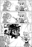 艦これ1P劇場59: 連装砲火魔