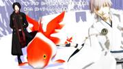 金魚(琉金型)配布します
